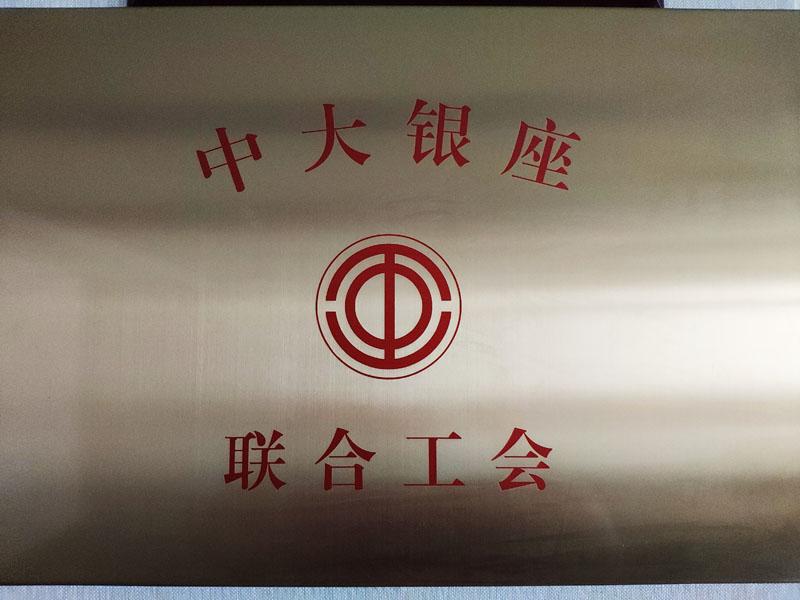 中大银座联合工会挂牌成立(en)